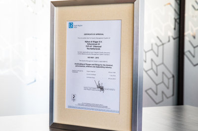 image NWFF receives ISO 9001:2015 certificate
